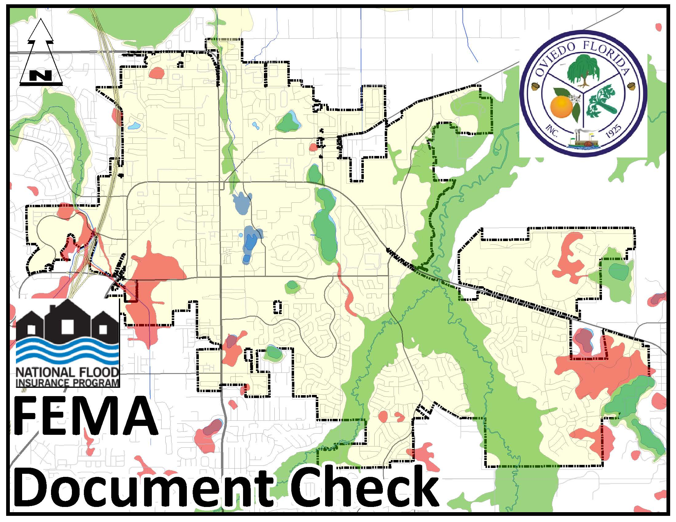 Map search for FEMA documents related to a property
