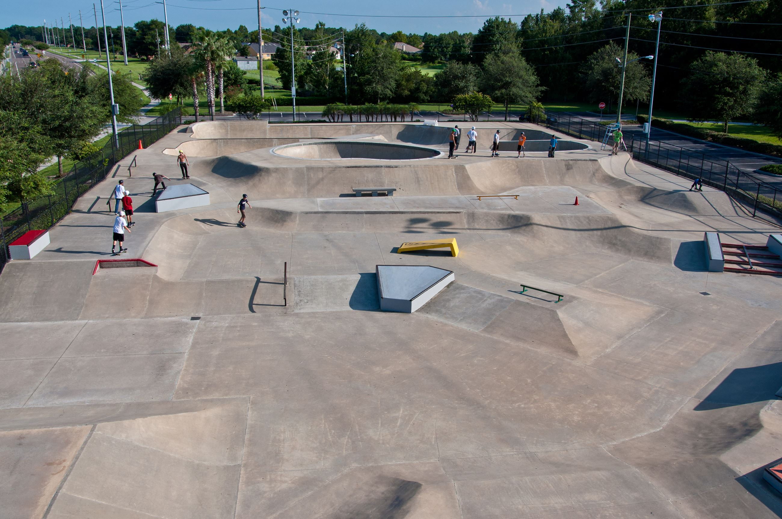 Florida Skateparks Map.Oviedo Fl Official Website