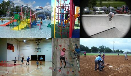 Oviedo Recreation and Parks Collage
